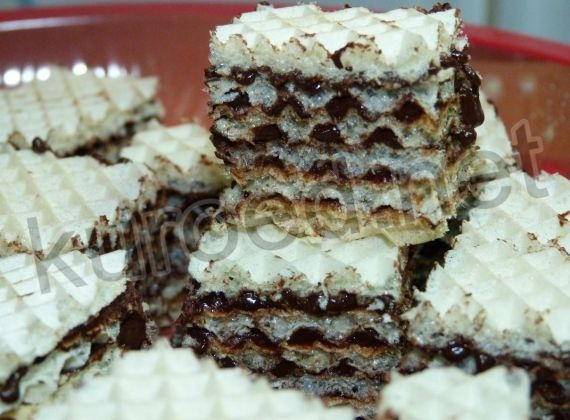 Вафельные шоколадные конфеты
